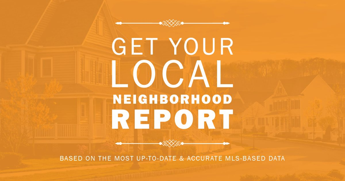 Local Neighborhood Report
